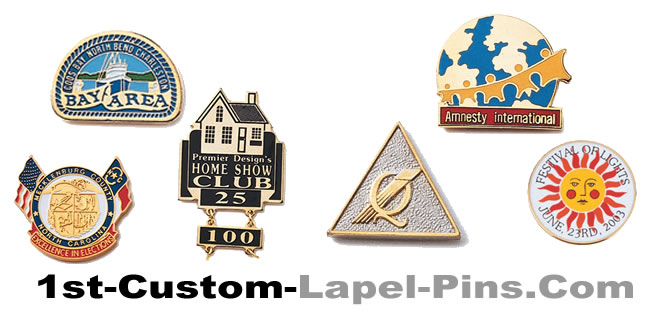 custom lapel pins and emblems